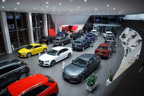 предприятие продажи автомобилей