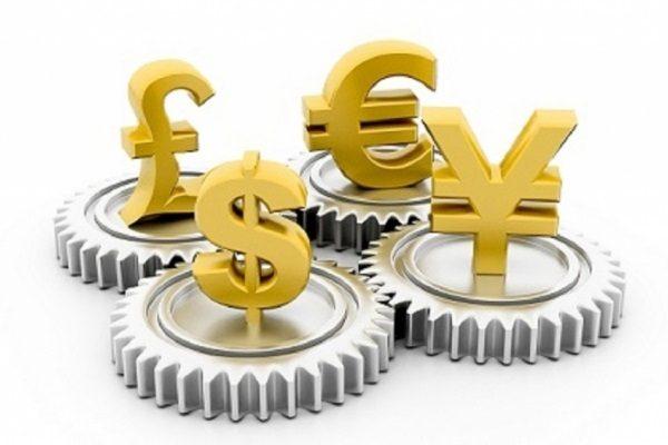 колебание курсов валют